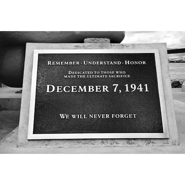 December 7, 1941. Pearl Harbor, Hawaii