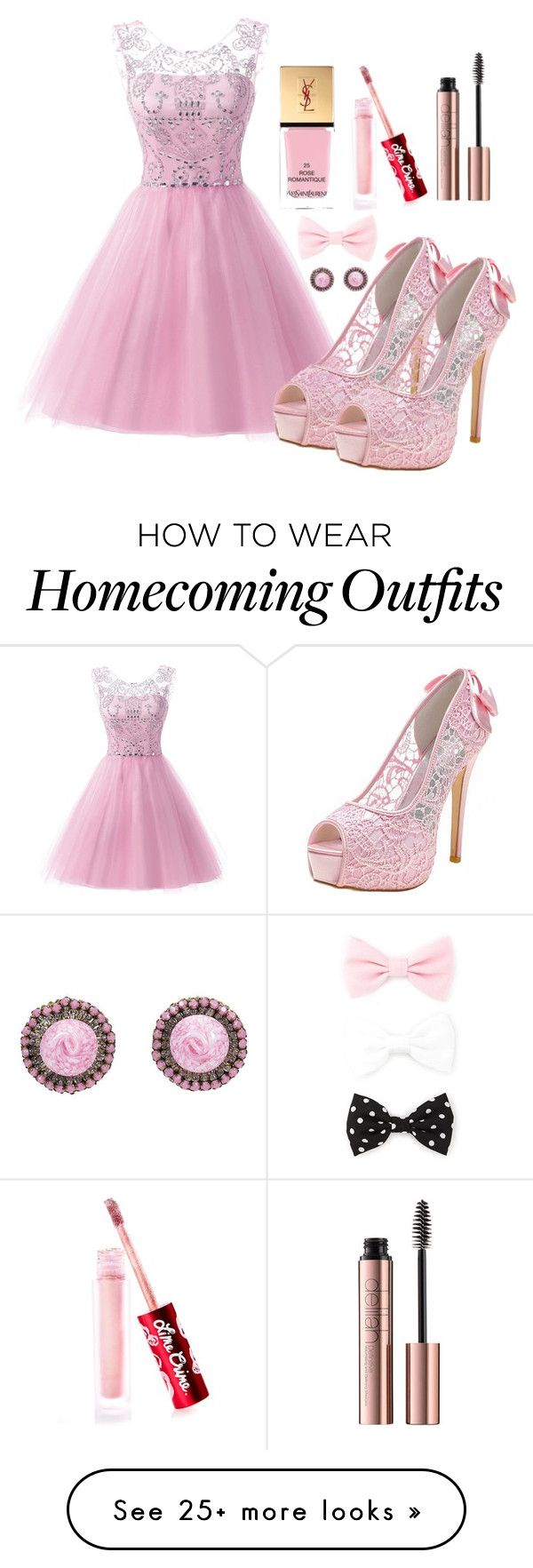"""""""Outfit #1131"""" by ivanna1920 on Polyvore featuring Yves Saint Laurent, Lime Crime and Forever 21"""