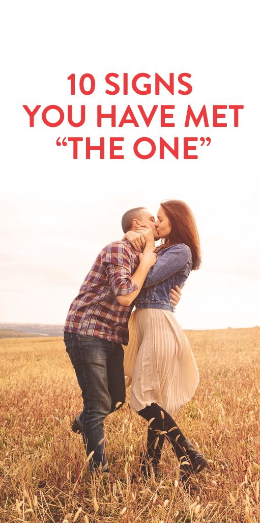 "How to tell you've met ""the one"" #Love #Relationships #Romance"