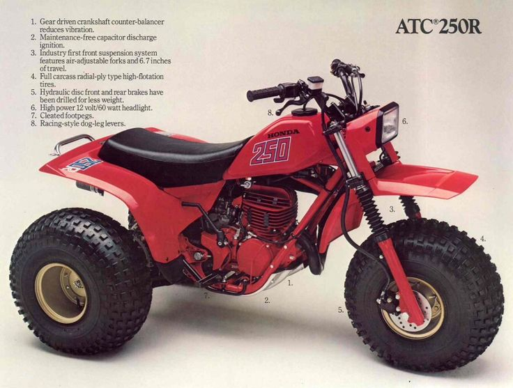 131 best Atv images – Honda Odyssey 250 Atv Wiring Diagram