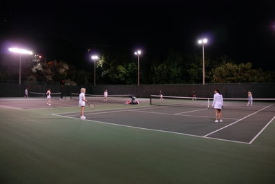 Valley Tennis club at Yonge and York Mills