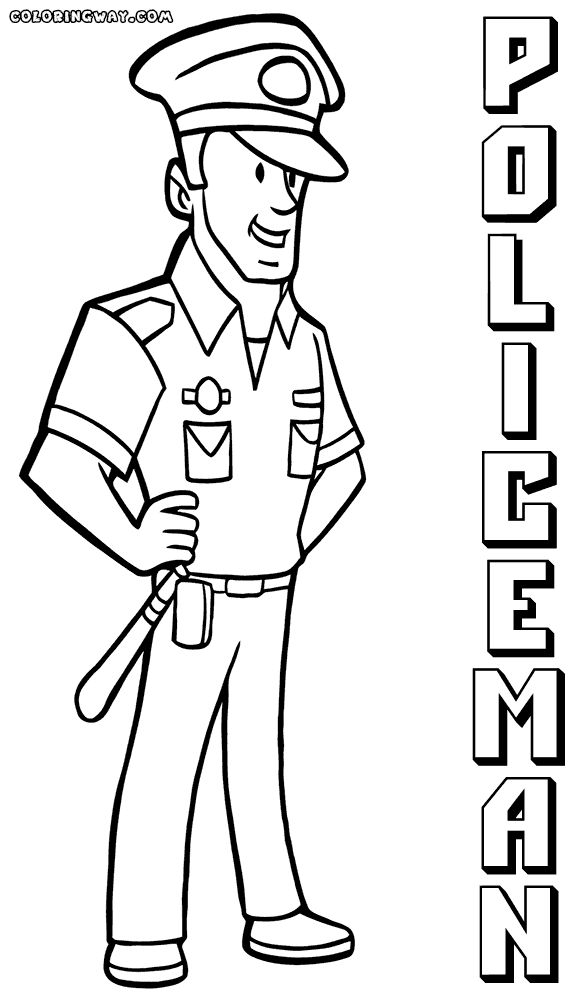 Fresh Police Officer Coloring Pages 84 On New Coloring