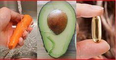 Uma cenoura, um abacate e uma cápsula de vitamina E. 20 minutos depois, um milagre acontece! | Cura pela Natureza