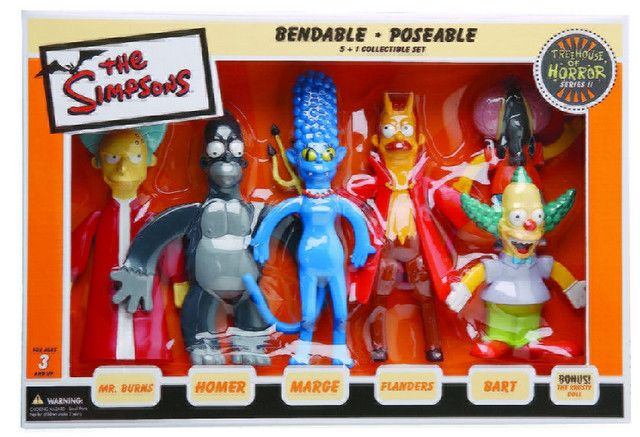 the simpsons toys | Treehouse Toys are horrorific