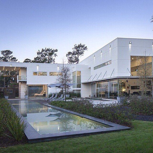 Best D Fachada Images On Pinterest Architecture Modern - Houston location in usa