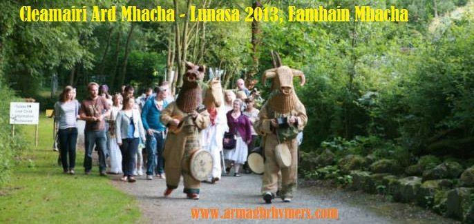 Lucht Lughnasa/La Lu ag Eamhain Mhacha - Lunasa (August) Parade at Navan Fort, Armagh