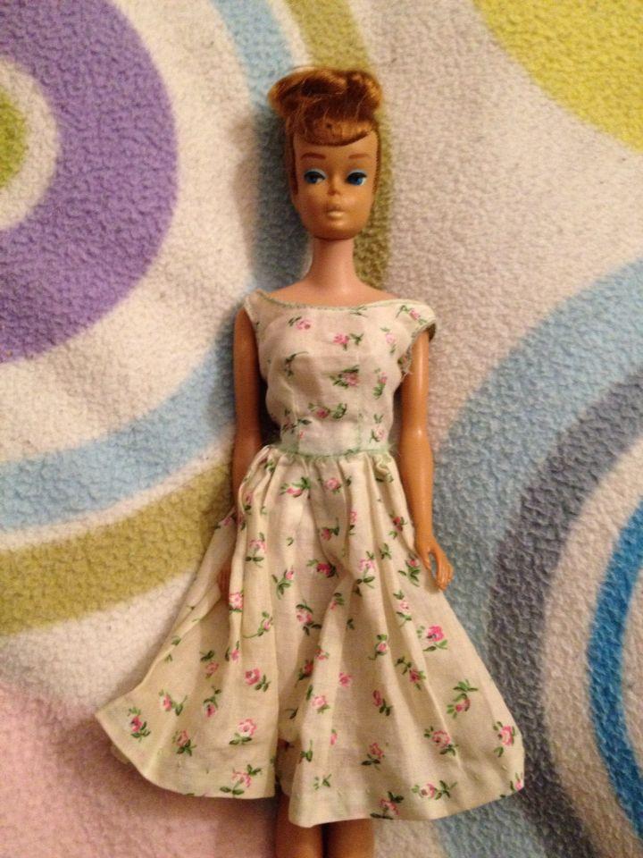 Vintage Barbie 1958