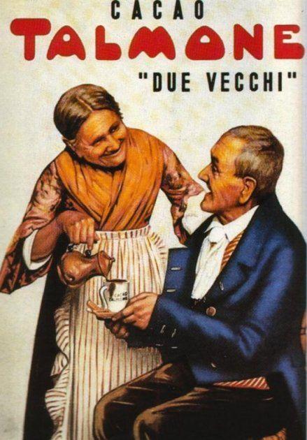 Michele Talmone è stato una dei primi industriali a credere nella pubblicità e questo manifesto, creato nel 1890 è apparso sui muri di mezzo mondo per due-tre generazioni.