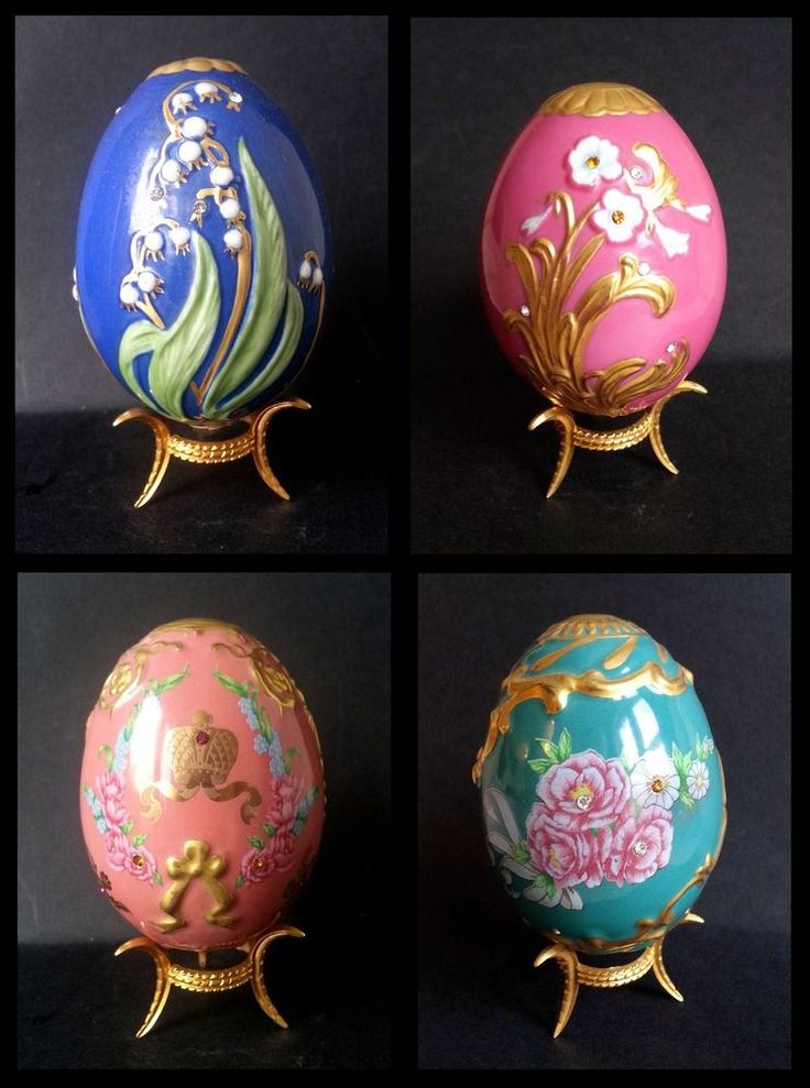 the imperial collection faberge collectors egg decorative ornament franklin mint