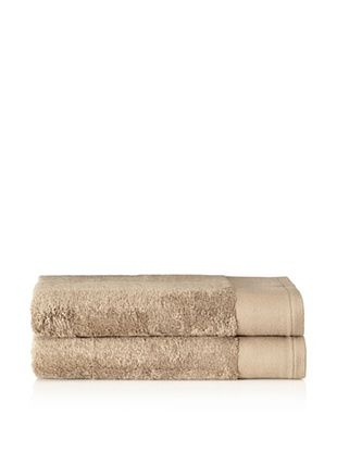 58% OFF Schlossberg Set of 2 Interio Bath Towels, Sand