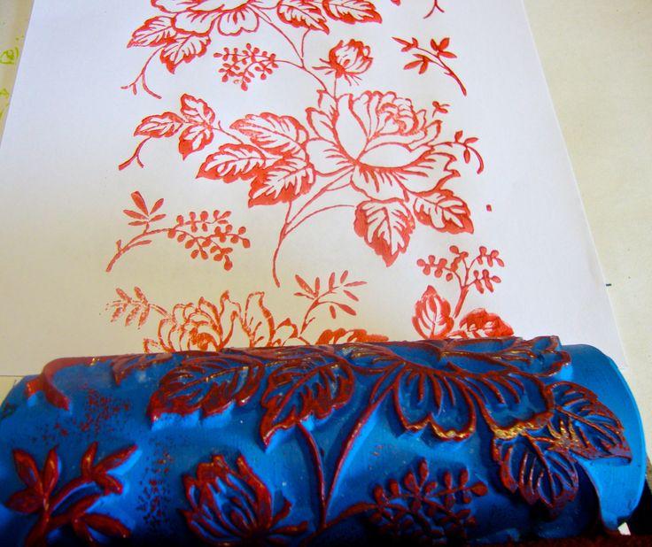 26 besten my collection pattern rollers handmade in germany bilder auf pinterest deutschland. Black Bedroom Furniture Sets. Home Design Ideas
