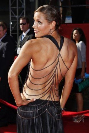 Lolo Jones showing how hard work pays off on the red carpet.