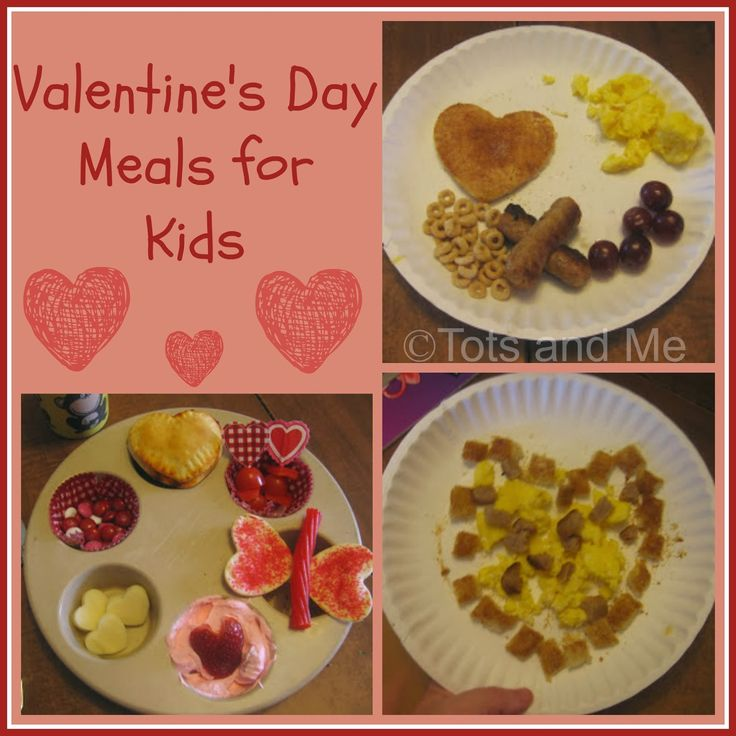 Tots and Me... Growing Up Together: Happy Valentine's Day: Some special meals #ValentinesDay Meals for Kids