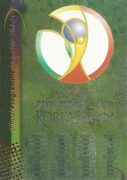 2002 Panini World Cup #2 Official Emblem Front