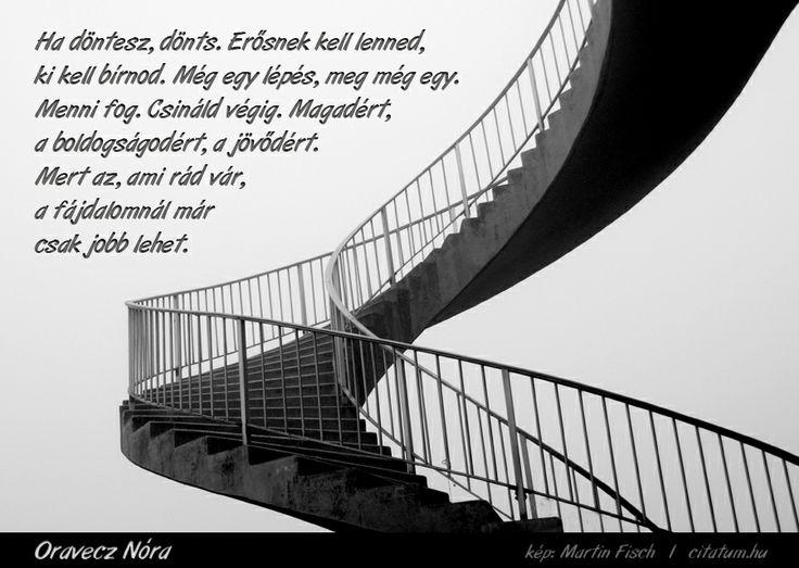 A hét idézete november utolsó hetén Oravecz Nóra Facebook oldaláról.