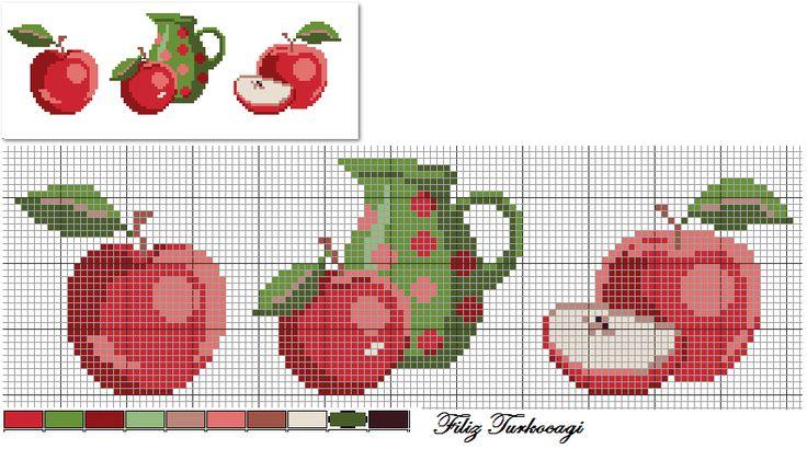 Elma sever misiniz ? (Red Apple) Designed by Filiz Türkocağı