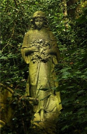 In the company of angels: Nunhead Cemetery, London, England