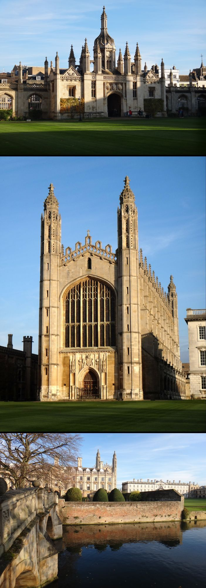 King's College, Cambridge, England, UK