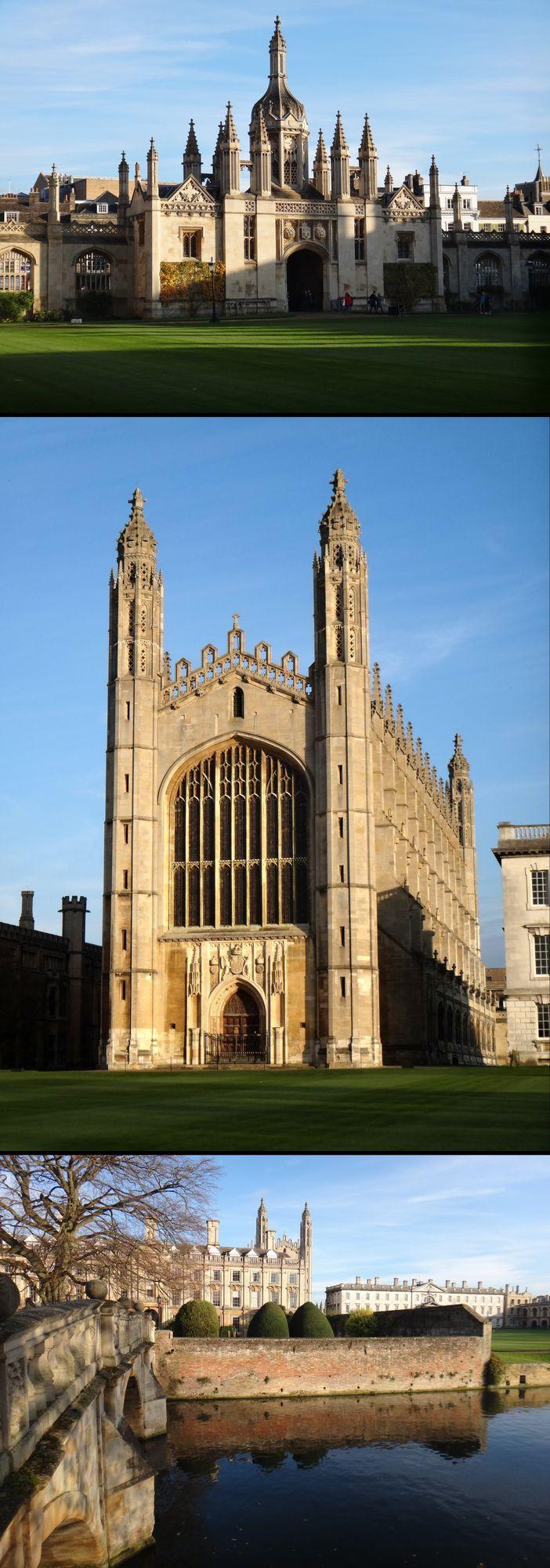 King's College, Cambridge, England, UK