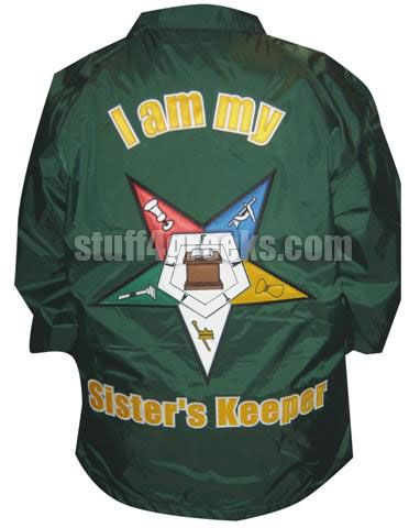 Fully Customizable Order of Eastern Star Line Jacket - OES Crossing Jacket
