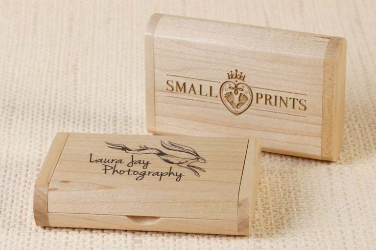 The light wood looks great printed or engraved