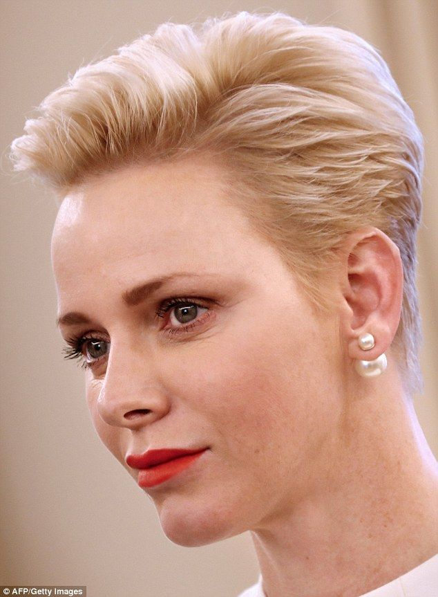 Be the girl with the pearl earring like Princess Charlene Click 'visit' to buy it now #DailyMail