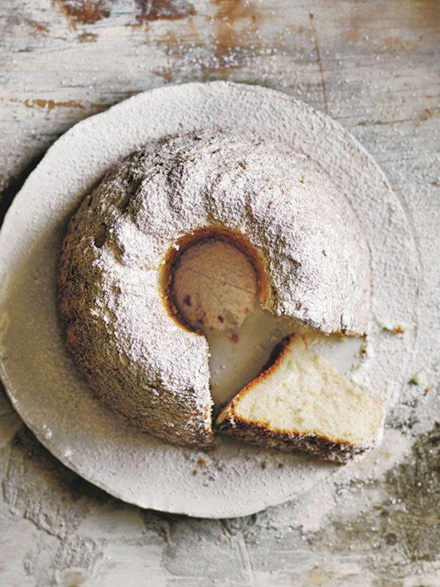 soft vanilla sponge cake