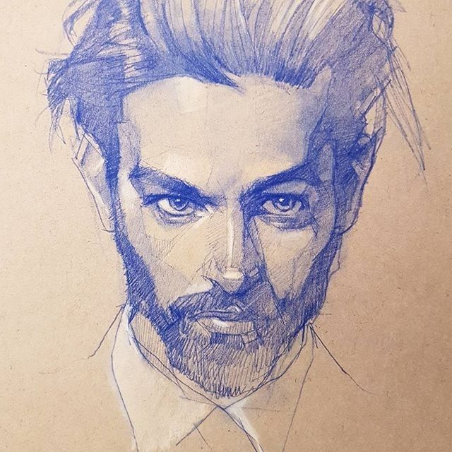 Drawing by Raymond Lo !  . . . . . . . #arts_gate @watercolor_arte