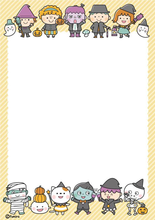 ハロウィン・ハロウィンのお菓子をもらうネコのイラスト(モノクロ)