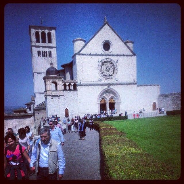 Assisi em Perugia, Umbria