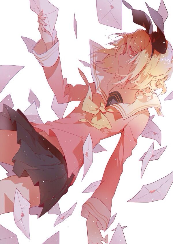 Rin Kagamine # vocaloid
