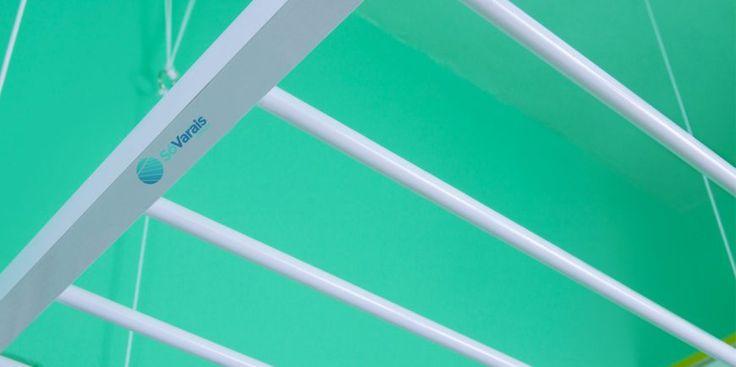 Varal de Teto Super.    O Super Varal é fabricado em alumínio com Pintura Eletrostática Branca ou anodizado com 8 varetas.    Garantia de 1 ano - Frete Grátis - Fabricação Própria.    instalação grátis - válido somente para a cidade de São Paulo.    www.sovarais.com.br    11 – 3151-5284 / 11- 3231-3144    #varaldeteto #sovarais  #SaoBernardo #Morumbi #Osasco #Perdizes #SP