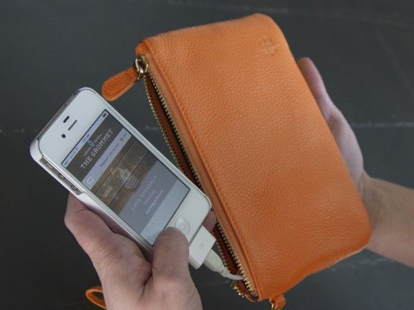 THE POWER WITHIN All dressed up and nowhere to charge your smartphone? That's why the Mighty Purse by Handbag Butler was created. It's a sty...