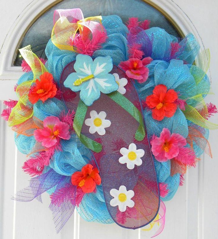 Decorate flip flop craft ideas soo cute 1 flip flop for Flip flops for crafts