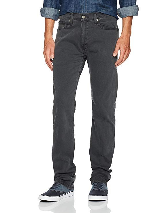 baa38eed564 Levi's Men's 513 Slim Straight Jean, Matchbook-Stretch, 28 30 at Amazon  Men's Clothing store: