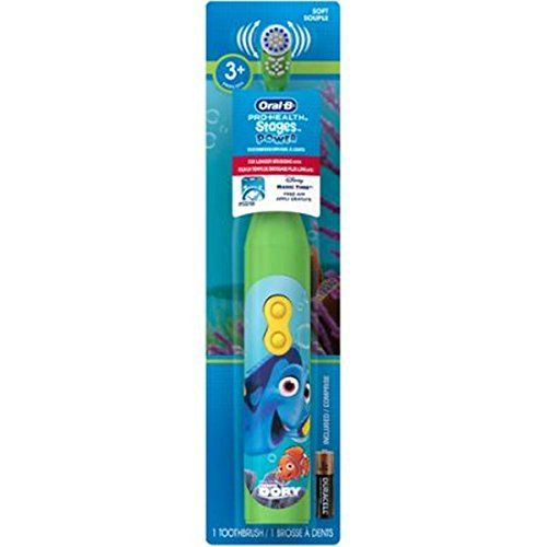 #Oral-B Pro-Health Stages Power Finding Dory Toothbrush: From Oral-B, #1 brand used by dentists worldwide Rotating power toothbrush head reaches, surrounds, and ...
