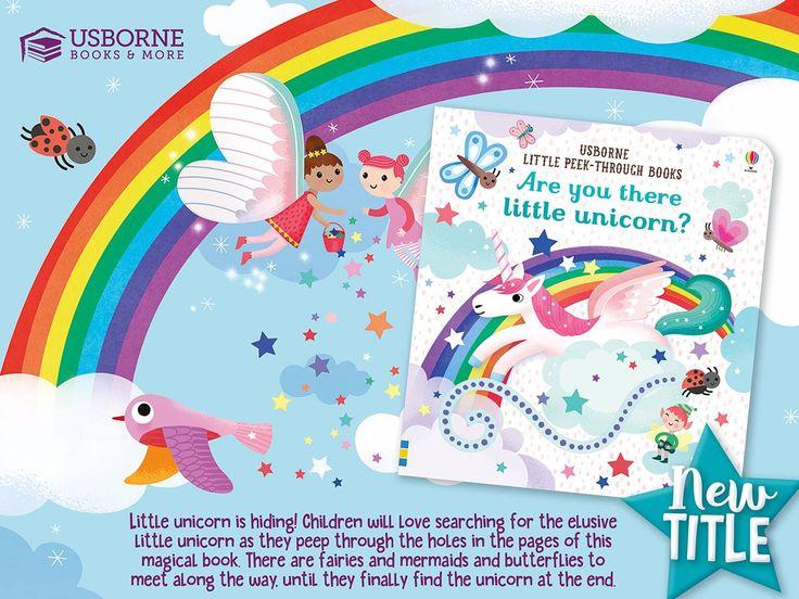 Are you there little unicorn unicorn books usborne