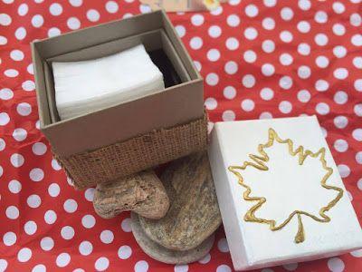 Durma Yarat: Düzenleyici DIY Kutu | Sonbahar Teması