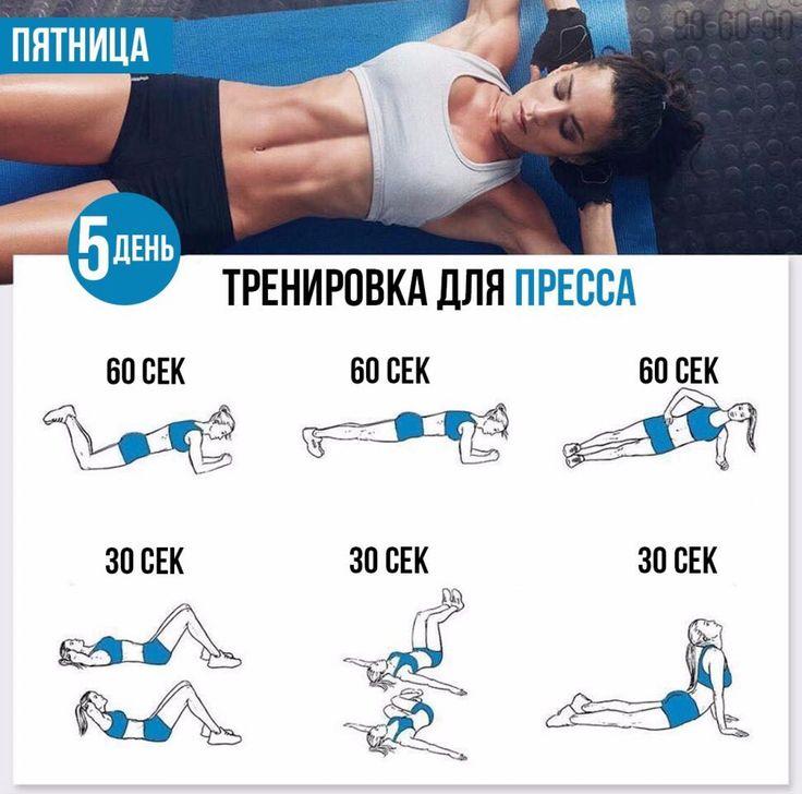Тренировочный День Для Похудения. Упражнения для быстрого похудения в домашних условиях