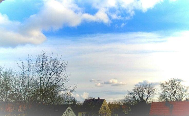 the sky ist so blue on wednesday by Sebastian G. on 500px