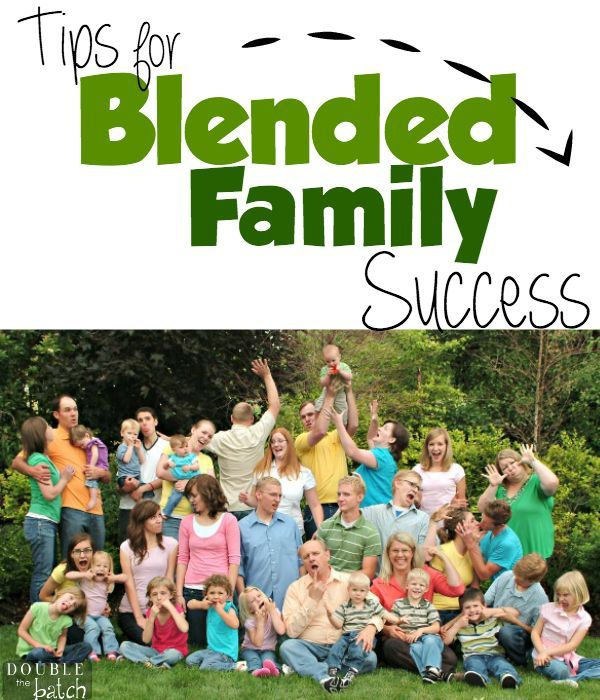 Tips from my amazing mother on how she blended our two families successfully!