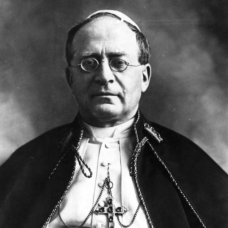 29 September 1937 > Pope Pius XI Attacks Atheism, Communism, & (Much Less Clearly) Nazism
