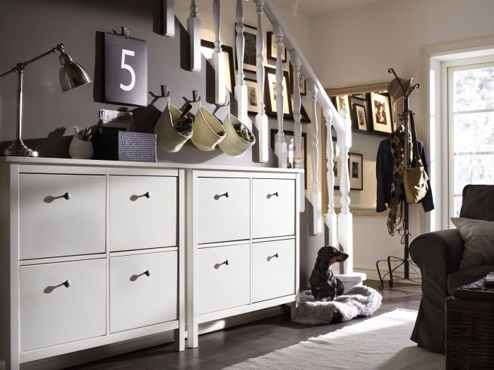 Luxury Front Hall Storage