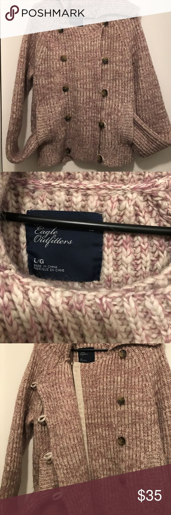 American Eagle Outfitters Sweater Sassy. Chic. Warm. This American Eagle Outfitters Sweater jacket will keep you looking stylish and cozy all season. Like new condition. American Eagle Outfitters Sweaters