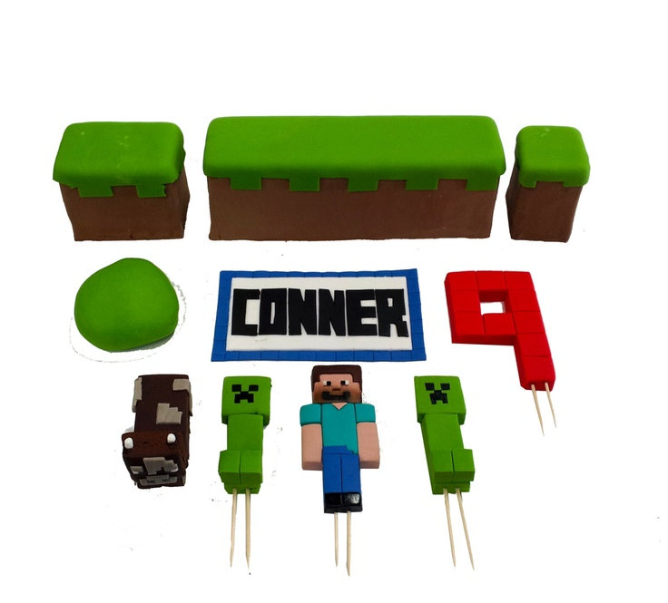 Cake Toppers Minecraft Uk : 17 best ideas about Minecraft Cake Toppers on Pinterest ...