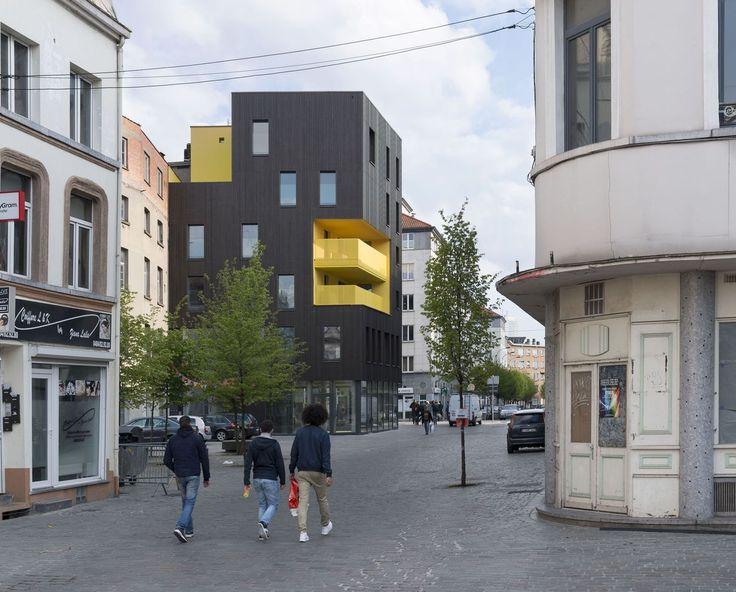 Housing Flandre,© Marie-François Plissart and B612 Associates