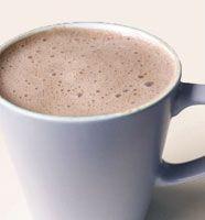 Calming carob delight recipe - with cinnamon and coconut milk (instead of coffee!!)