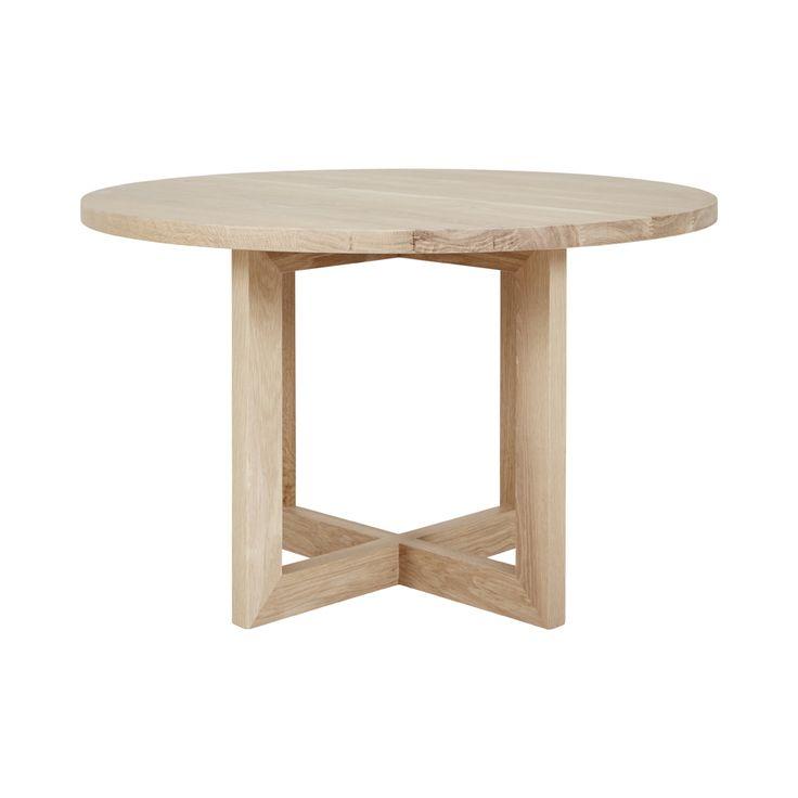 Best 25+ Round oak dining table ideas on Pinterest | White ...