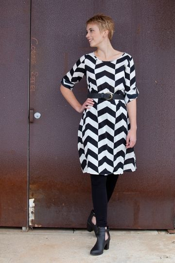 Chic Chevron Outfit
