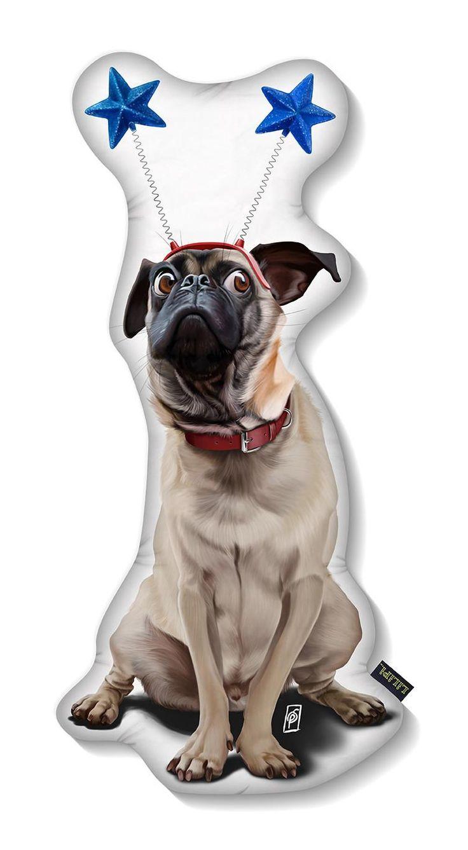 A pugs life art | decor | wall art | inspiration | animals | home decor | idea | humor | gifts